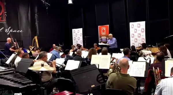 Orchestra Rehearsal & From the Desk of Dean West