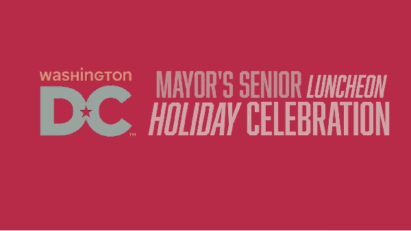DC Mayor Annual Seniors Celebration